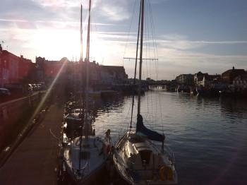 Tarde tranquila en Weymouth