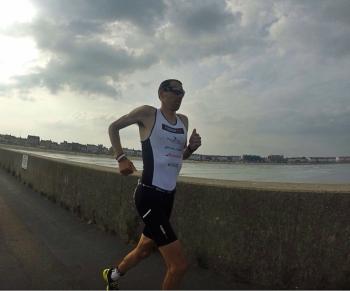 Terminando la maraton